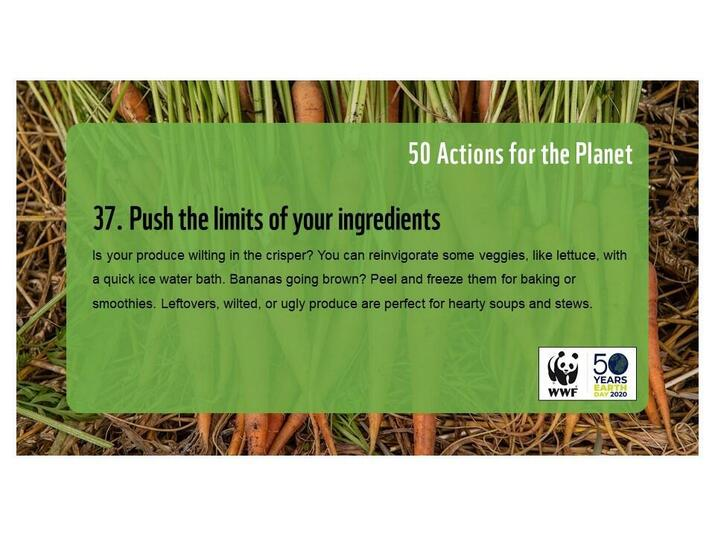 Action 37: Push the limits of your ingredients