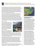 A Brief for U.S. Companies Purchasing Forest Products from China and the Russian Far East Brochure