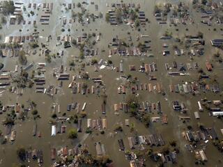 New Orleans Hurricane Katrina Aftermath