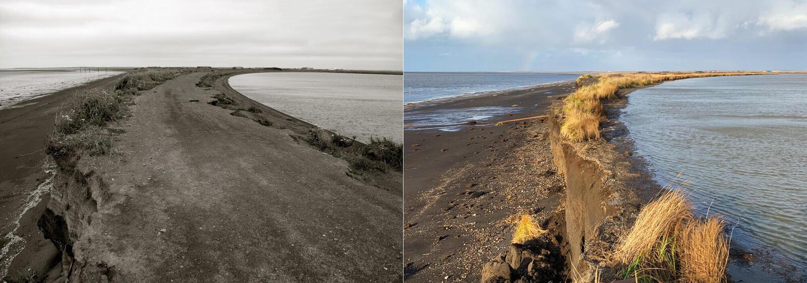 Erosion in Port Heiden