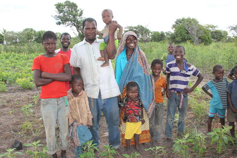Alima and her family