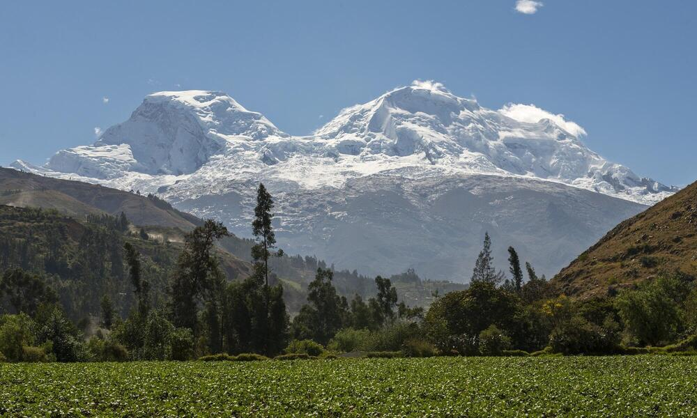 Andes Mountains Peru