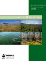 Arcs of Habitat Loss: The Ecological Frontiers of Agricultural Expansion Brochure
