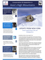Asia High Mountains Newsletter: Issue 3 Brochure