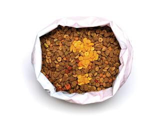 Bag of pet food