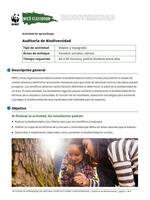 Auditoria de Biodiversidad Brochure