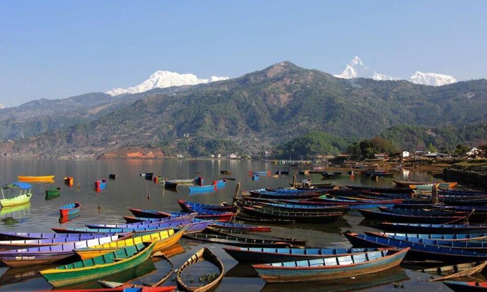 boats in Nepal