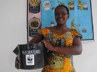 Charcoal stove DRC