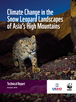 Climate Change in the Snow Leopard Landscapes of Asia's High Mountain: Technical Report  Brochure