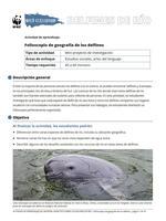 Folioscopio de geografía de los delfines Brochure