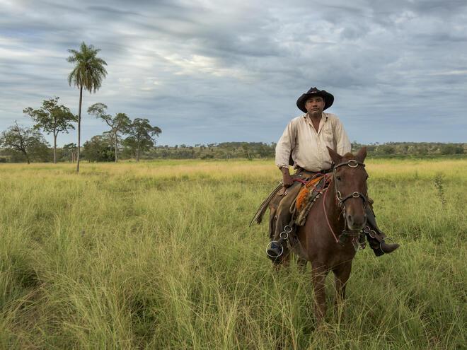 Edison Alves da Silva, a sustainable rancher in the_Pantanal_Brazil