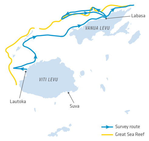 Map of Great Sea Reef