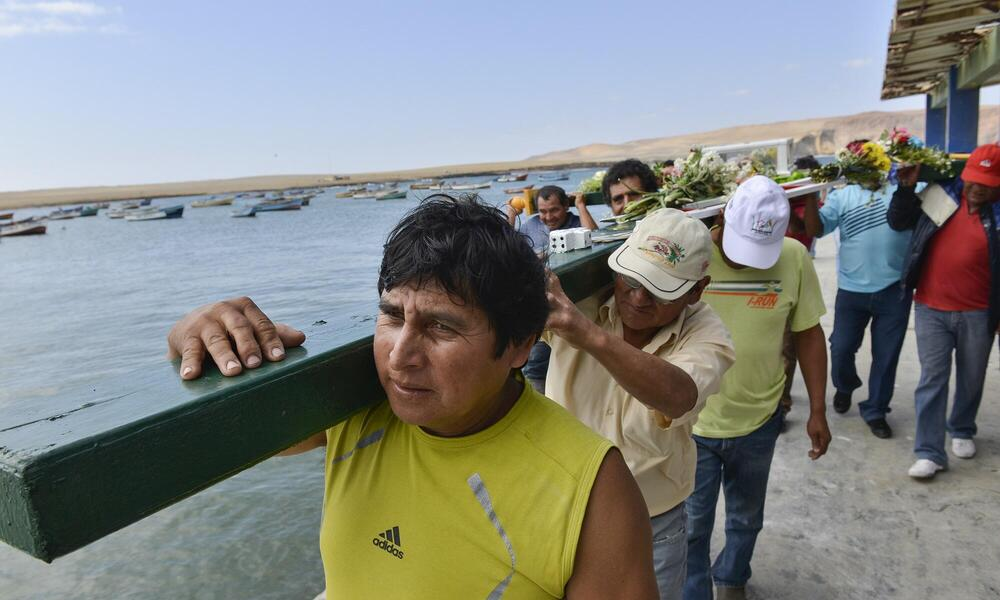 Fishing Ceremony Lagunillas, Peru