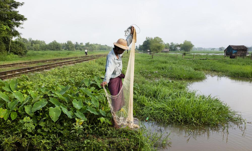 fishing in myanmar