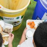 Food Waste Education Program by the World Wildlife Fund at Seaton Public Elementary School in Washington, DC, United States of America