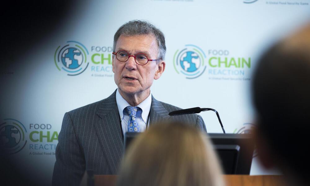former US senator Tom Daschle