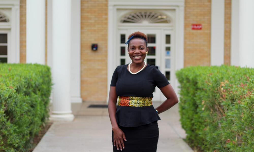 2020 EFN Fellow Fransiska Kangombe