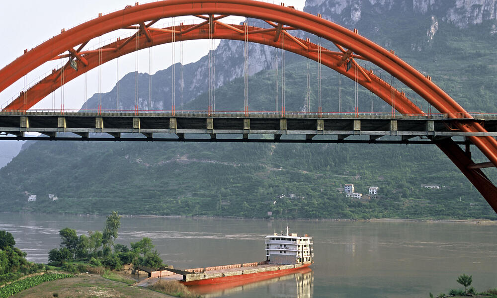 Yangtze River. China