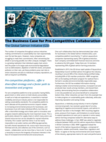 The Business Case for Pre-Competitive Collaboration: The Global Salmon Initiative (GSI) Brochure