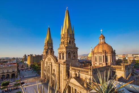 Cityscape of Guadalajara Mexico