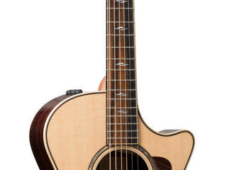 Front of acoustic guitar