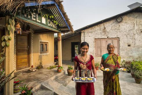 Hospitable in homestay near Chitwan National Park
