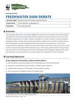 Freshwater Dam Debate Brochure