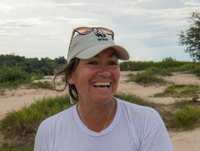 Smiling portrait of Lila Sainz