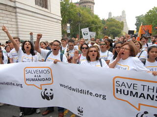 Latinos at the Climate March