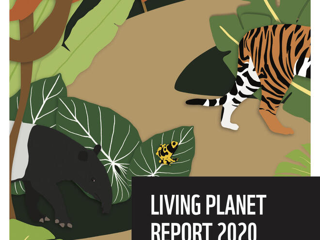 Living Planet Report 2020 Youth Edition Cover