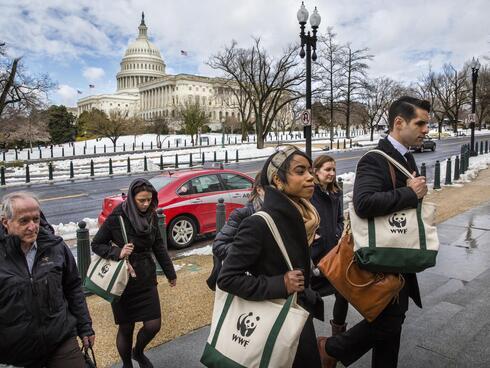 Lobby Day Activists