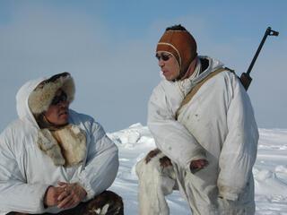 Local native Chukchi brothers