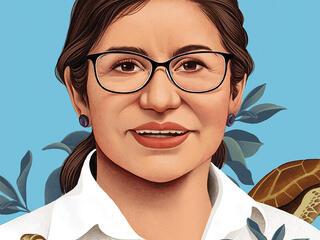 Mariuxi Farias illustration