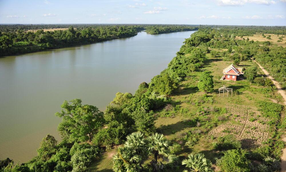 Mekong River in Cambodia