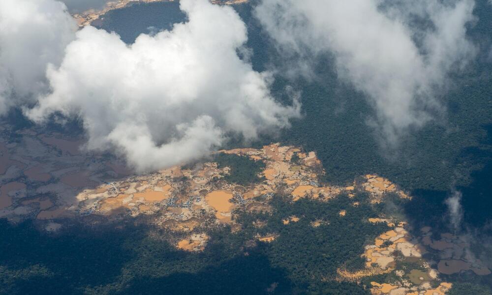 Mining in Madre de Dios, Peru