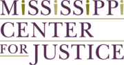 Logo for Mississippi Center for Justice Logo
