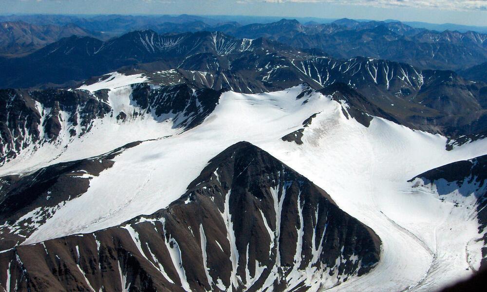Mountains and glacier, Alaska