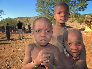 children in Namibia