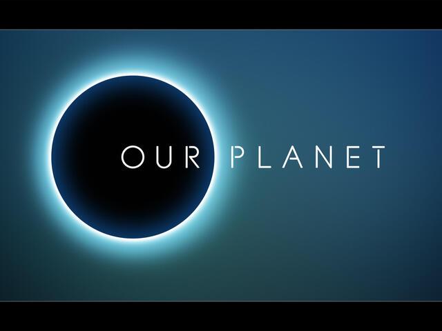 Our Planet 3d logo