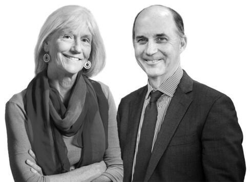 Julie Packard and Carter Roberts