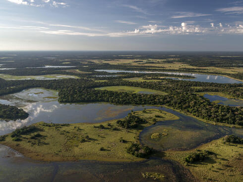 The Pantanal from above
