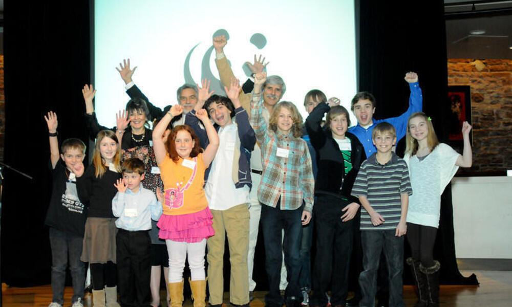 Kids at Partners in Conservation Event