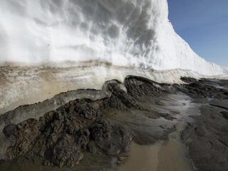 Permafrost thawing in Alaska