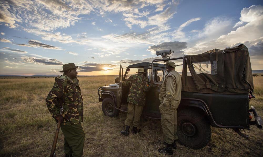 Mara Conservancy mobile camera training