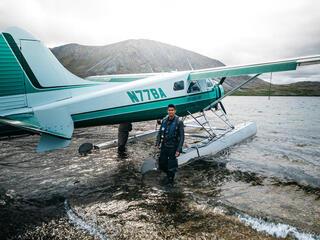 Jordan with plane
