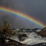Rainbow over the Zambezi