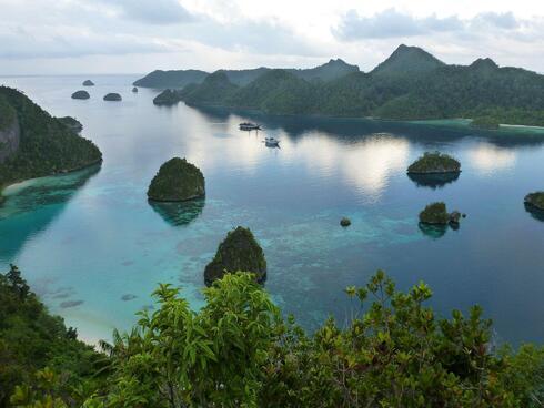 rock islands of Raja Ampat