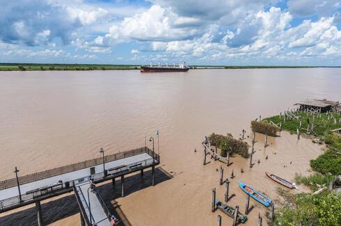 River in Rosario