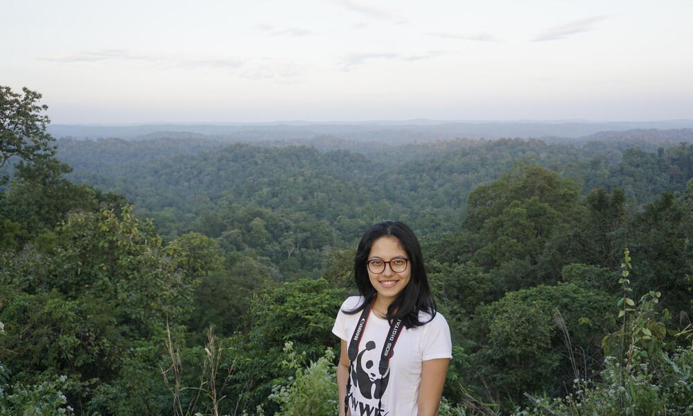 Sai Nay Won Myint from WWF-Myanmar
