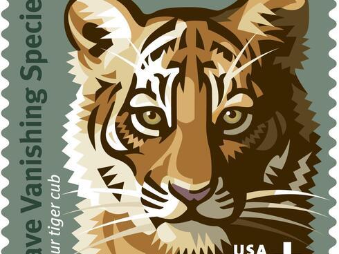 Save Vanishing Species stamp